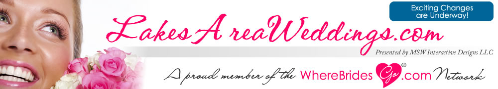 Plan your Detroit Lakes Area wedding with LakesAreaWeddings.com!