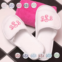 Personalized Spa Slippers